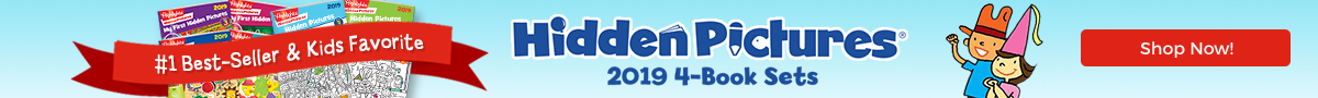 Hidden Pictures 2019 4-Book Sets