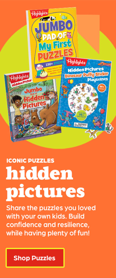 Share the iconic Hidden Pictures puzzles you loved with your own kids.