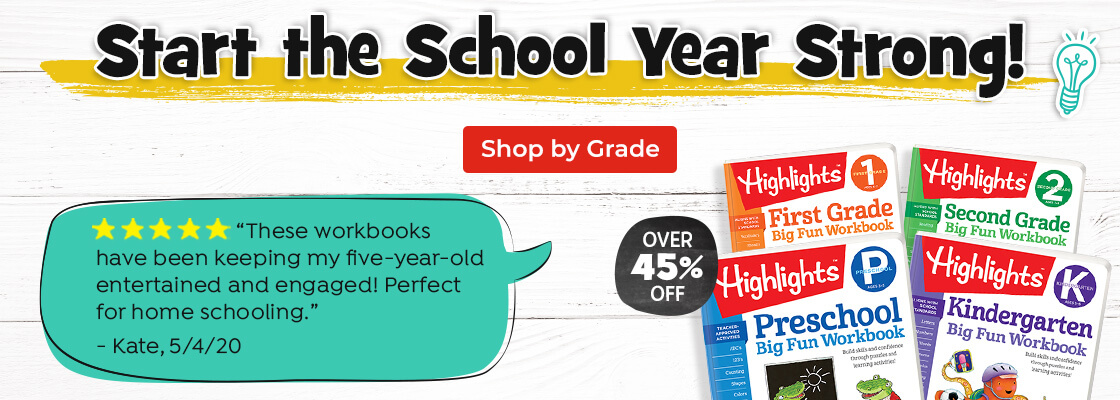 Start the school year strong with Highlights Learning, an easy way to support education at home!