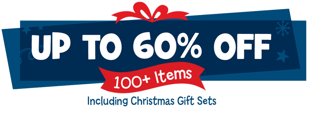 Get up to 60% OFF over 100 gift items!