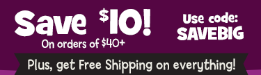 Save $10 on orders of $40+ in The Shop, plus get free shipping, with code SAVEBIG