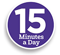 15 Minutes a Day to School Success is a new way to support their schoolwork at home!