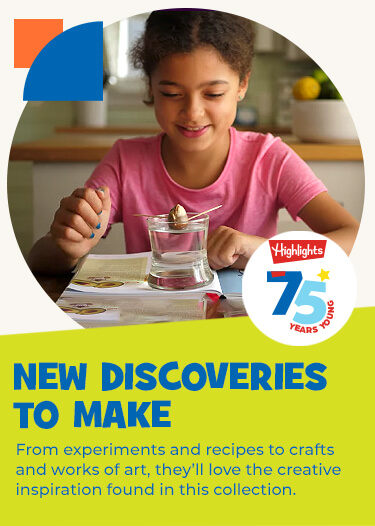Make new discoveries together, from experiments and recipes to crafts and works of art! They'll love the opportunities offered for creativity in this collection.