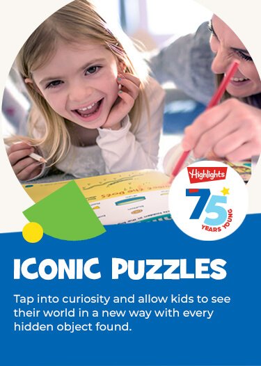 Experience our iconic Hidden Pictures puzzles your way! Tap into curiosity and allow kids to see their world in a new way with every hidden object found.