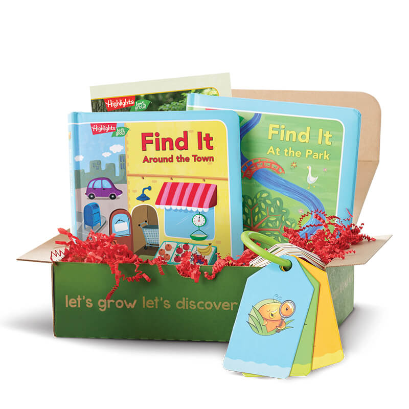 LETS EXPLORE Play & Learn Box