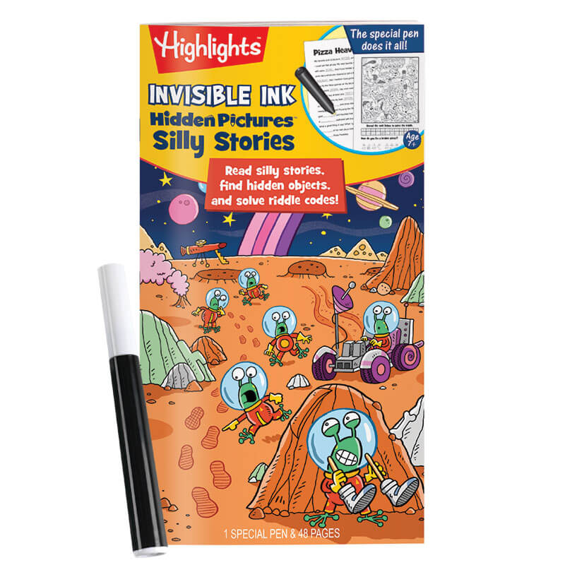 Highlights Invisible Ink Book: Hidden Pictures Silly Stories