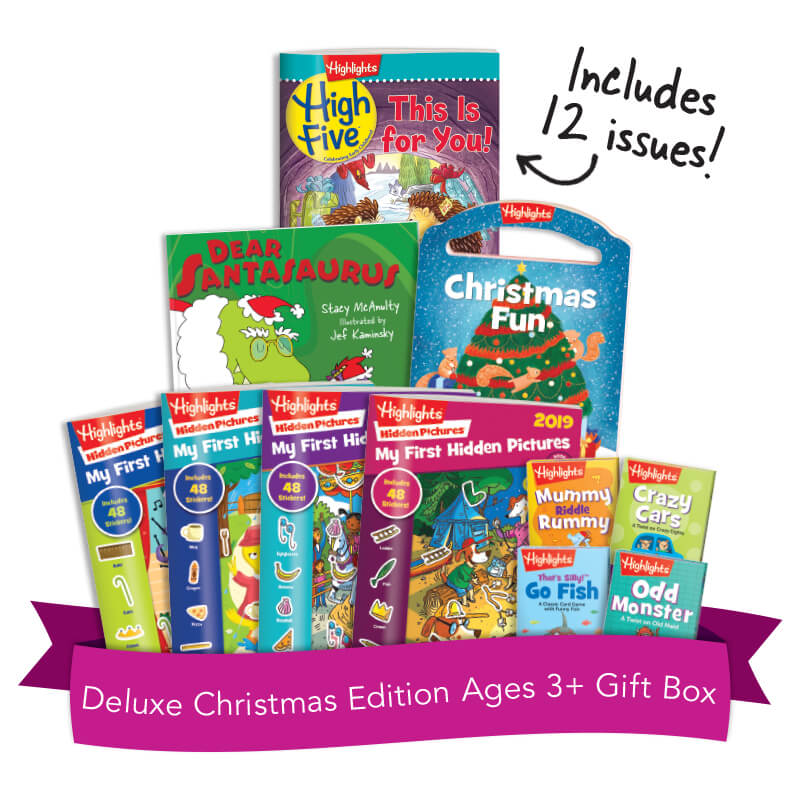 Deluxe Christmas Edition Ages 3+ Gift Box