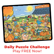 Play our daily puzzle challenge FREE today!