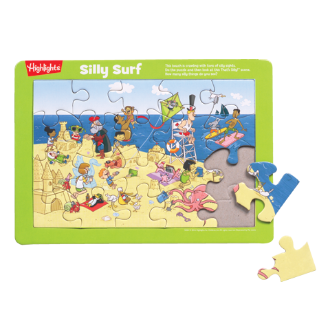 Silly Surf Puzzle