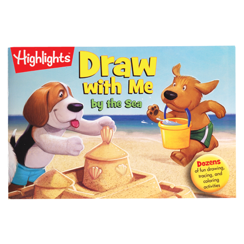 Draw With Me By The Sea