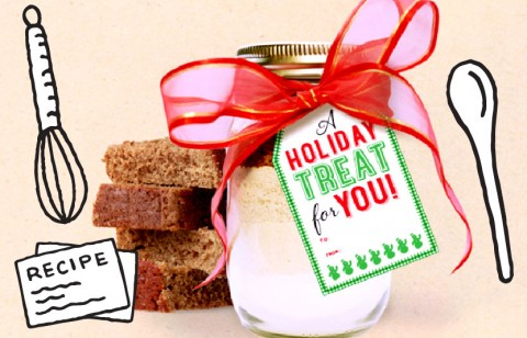 give a gift of gingerbread mix