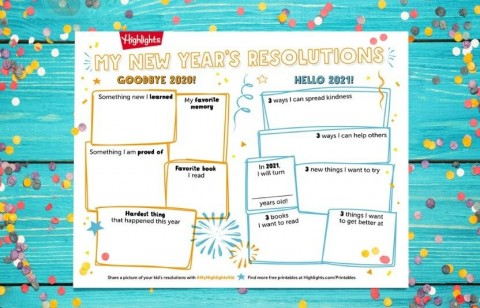 record your resolutions