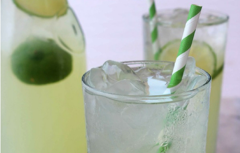 This homemade limeade hits the spot on a warm summer day!