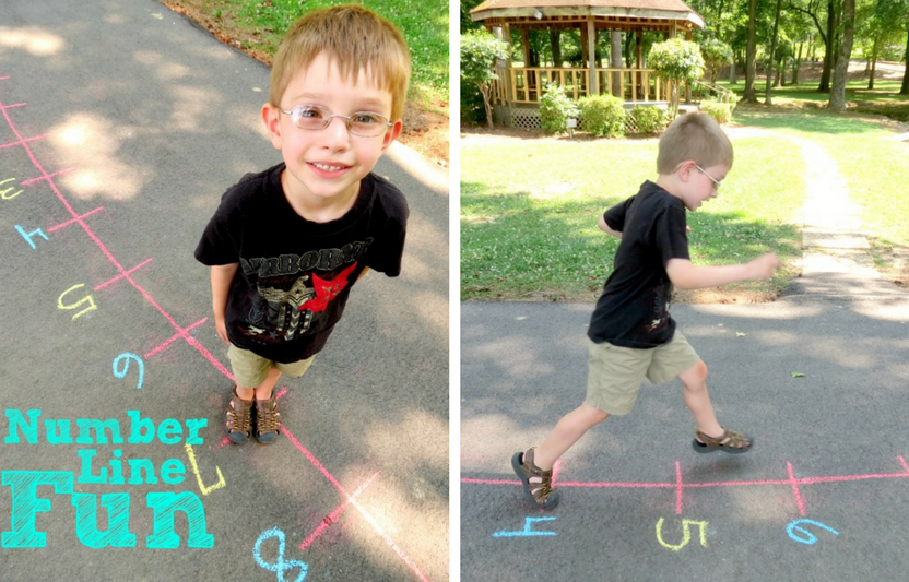A fun, physical game and a math activity all-in-one!