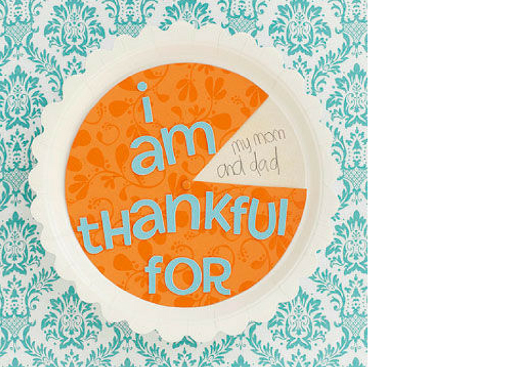 Prompt your kids to think about what they are grateful for this year with this thankfulness wheel.