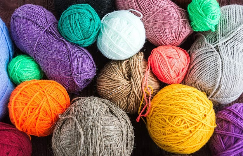 4 Awesome Colored-String and Yarn Crafts