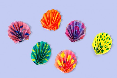 "Painted ""Seashells"""
