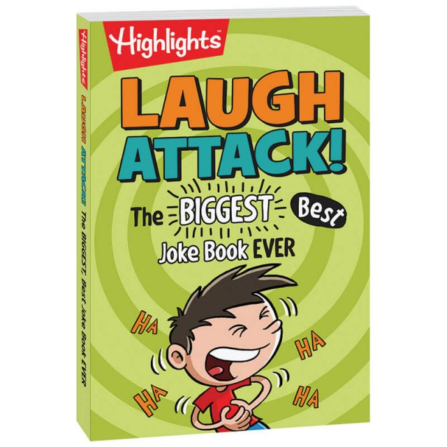 Laugh Attack! The Biggest and Best Joke Book Ever