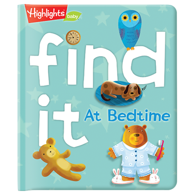 Find It! At Bedtime Board Book