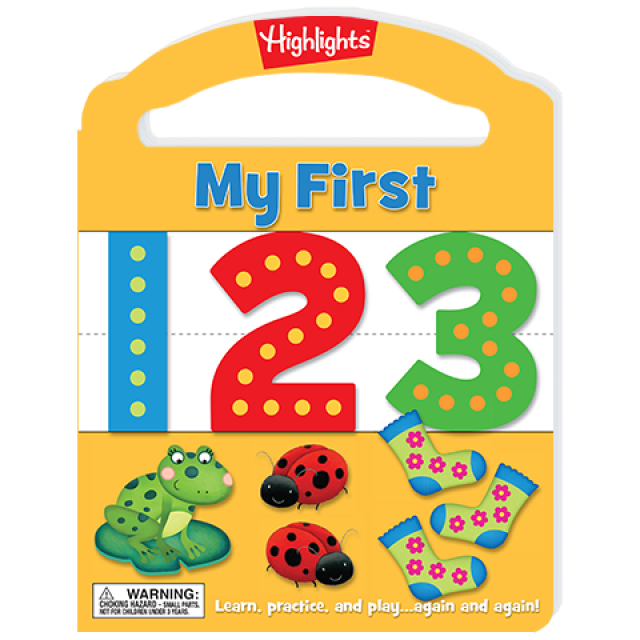 My First Write-On Wipe-Off Board Book: 123