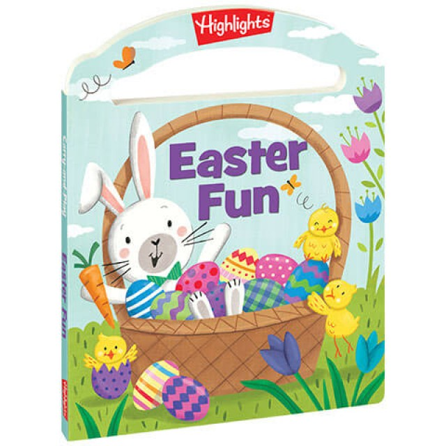 Easter Fun Carry and Play Board Book