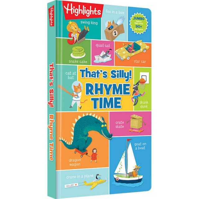 That's Silly Rhyme Time book