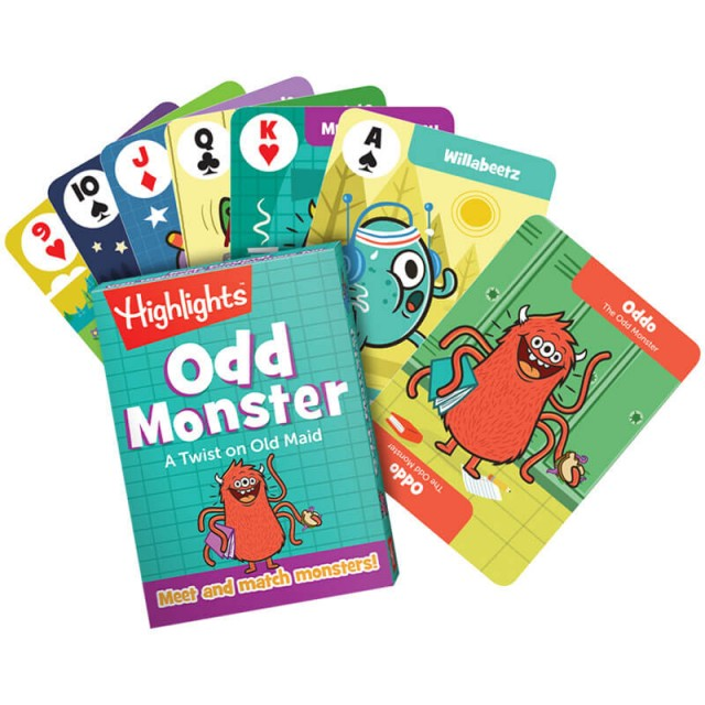 Odd Monster playing cards