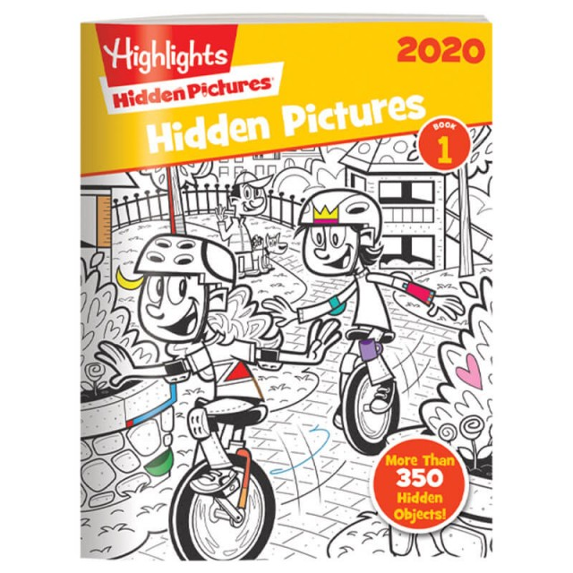 Hidden Pictures 2020 4-Book Set Page 2