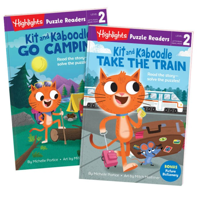 Puzzle Readers Level 2: Kit and Kaboodle Set