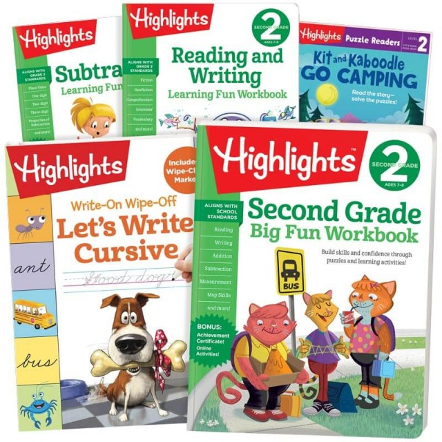 School Success Pack, Second Grade, with 5 books
