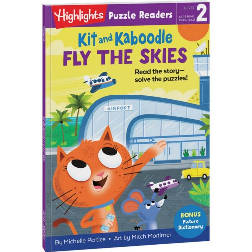 Kit and Kaboodle Fly the Skies puzzle reader
