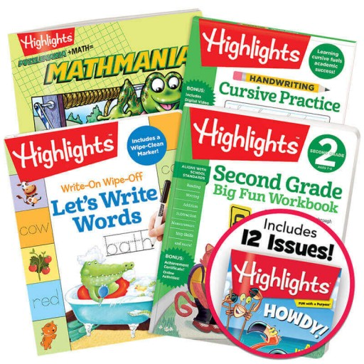 Deluxe Second Grade School Success Pack