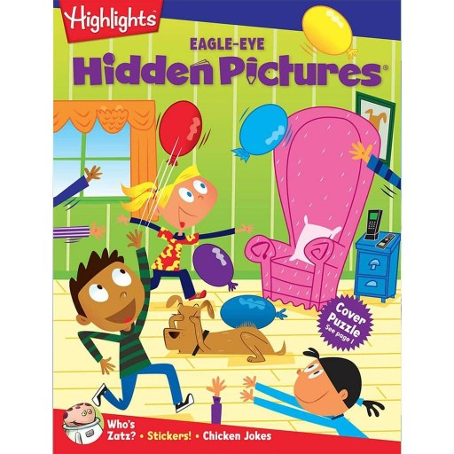 Hidden Pictures Club™ EAGLE-EYE Book Club cover