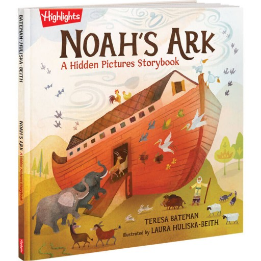 Hidden Pictures Noah's Ark book