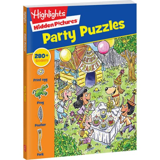 Hidden Pictures Party Puzzles book