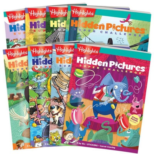 Hidden Pictures Super Challenge 8-Book Set