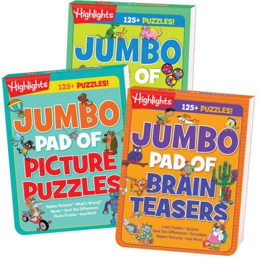 Jumbo Books Collection, Volume 2, has 3 books