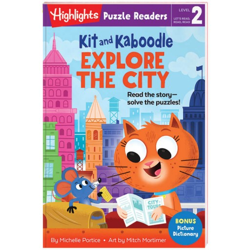 Highlights Puzzle Readers: Kit and Kaboodle Explore the City book