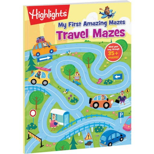 My First Amazing Mazes: Travel Mazes book