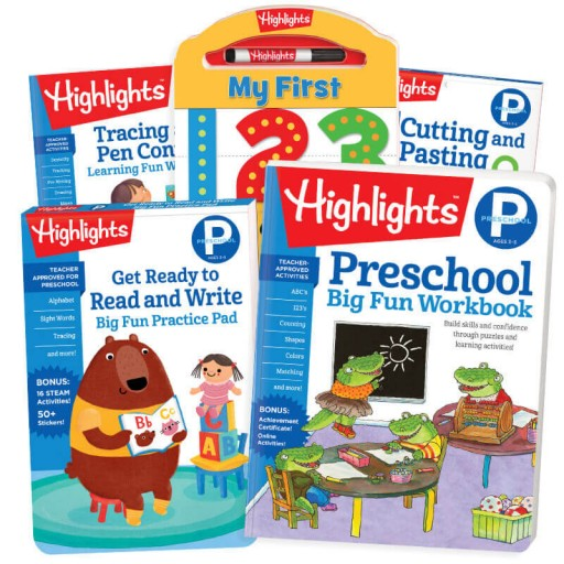 Back-to-School Success Pack, Preschool with 5 books