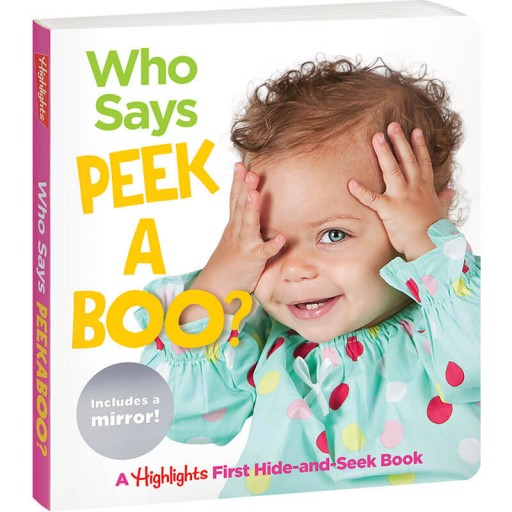 Who Says Peekaboo? baby board book