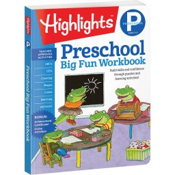 Big Fun Preschool Workbook