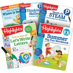 Summer Learning Pack: P-K, with 5 books