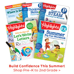 Build confidence with summer learning for preschool to second grade.