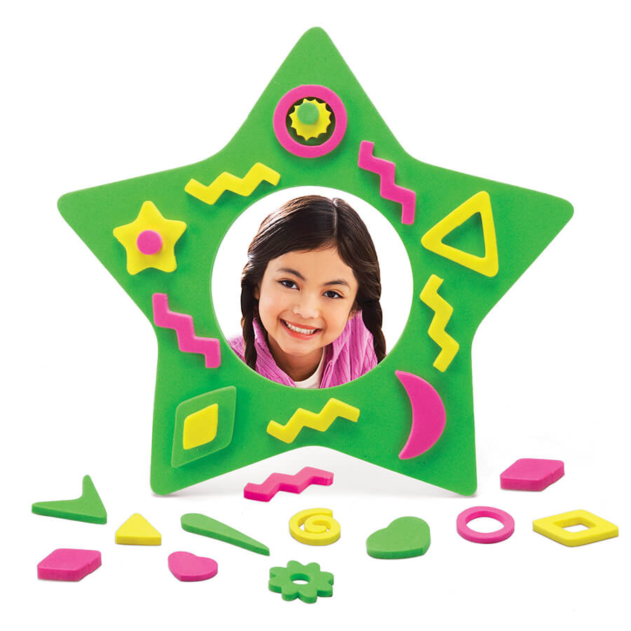 Star Foam Frames Set 2 | Highlights for Children
