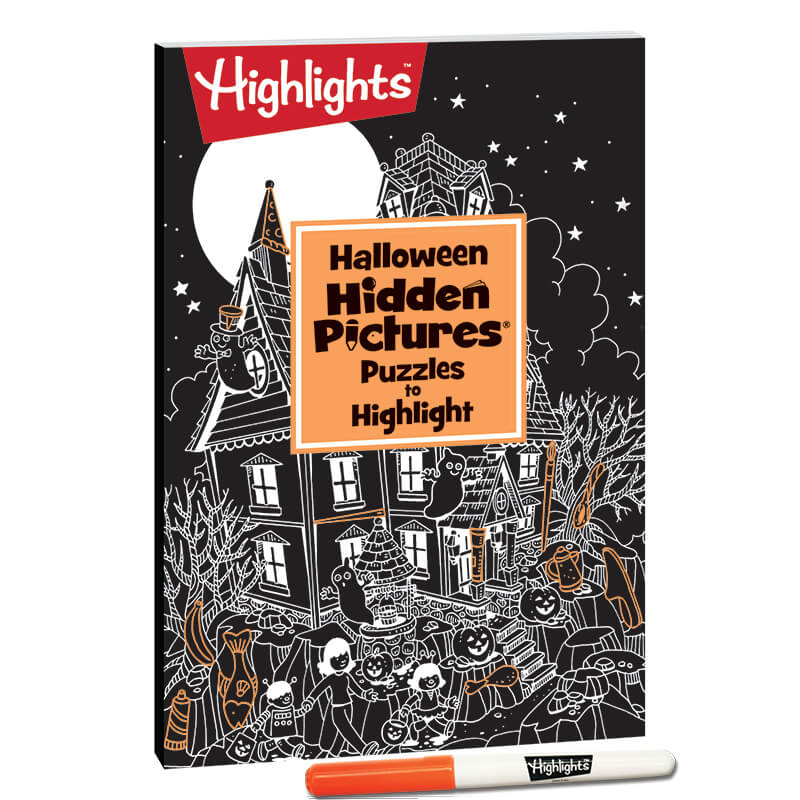 Halloween Hidden Pictures Puzzles To Highlight Highlights For Children