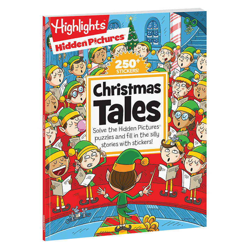 hidden pictures christmas tales