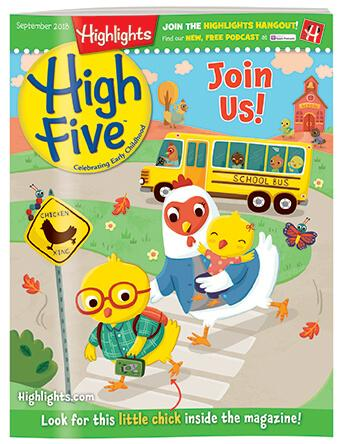 Magazines For Preschoolers Kindergartners High Five