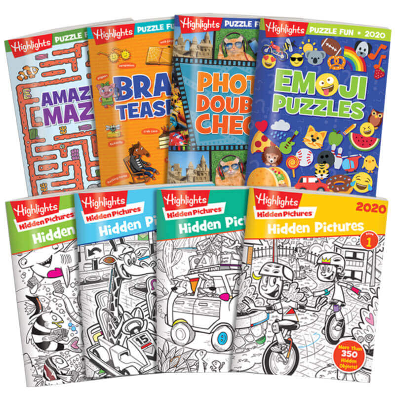 Best Childrens Books 2020.Best Of 2020 Hidden Pictures And Puzzle Collection